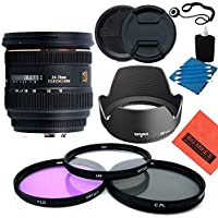 Sigma 24-70mm f/2.8 IF EX DG HSM AF Zoom Lens for Canon Digital SLR Cameras - Starter Kit
