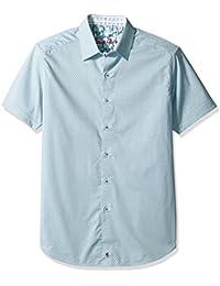 Men's Clemens S/s Classic Fit Woven Shirt