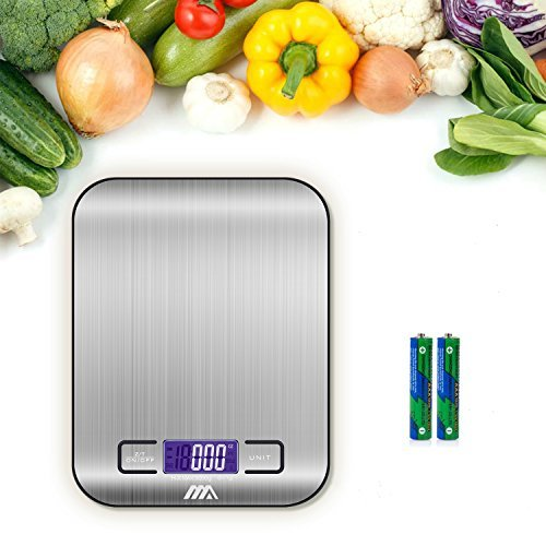 iHomy Stainless Steel Digital Scale - 1 g. to 11 lbs.