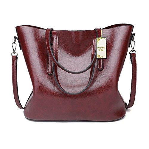 Cuir Main Soiree 2017 En Pochette Solde Pour Women Red Dark Bag Bandouliere Femme Vintage A Noir Sacs Cabas Sac 8zcSEEWY