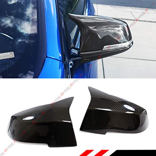 Cuztom Tuning Fits for BMW E84 F20 F21 F22 F23 F30 F32 F33 F36 F87 M2 Replacement Carbon Fiber Side View Mirror Covers Pair- M4 Style