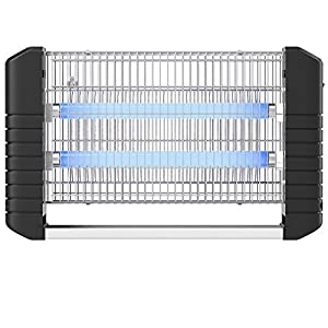 Hoont Powerful Electric Indoor Bug Zapper and Fly Zapper Catcher Killer Trap – Covers 6,000 Sq. Ft / Bug and Fly Killer, Insect Killer, Mosquito Killer – For Residential, Commercial and Industrial Use