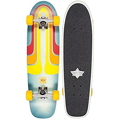 """Dusters Grind' Cruiser. Kryptonic White/Red - 28.25"""""""