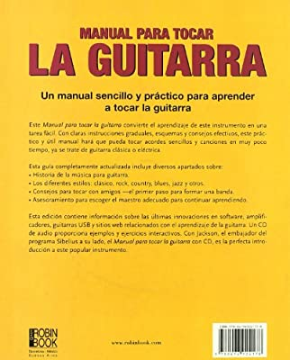 Manual para tocar la guitarra +CD Musica Ma Non Troppo: Amazon.es ...
