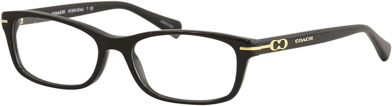 Coach ELISE HC6054 Eyeglass Frames 5002-52 - Black HC6054-5002-52