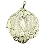 Souvenirs of France - The Virgin with Child Paris Medal - Material: Solid Silver