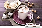 PigBangbang,Handmade Intellectiv Games Difficult With Jigsaw Glue Premium Wooden - Marshmallow Cocoa Coffee - 1500 Piece Jigsaw Puzzle (34.4 X 22.6'')