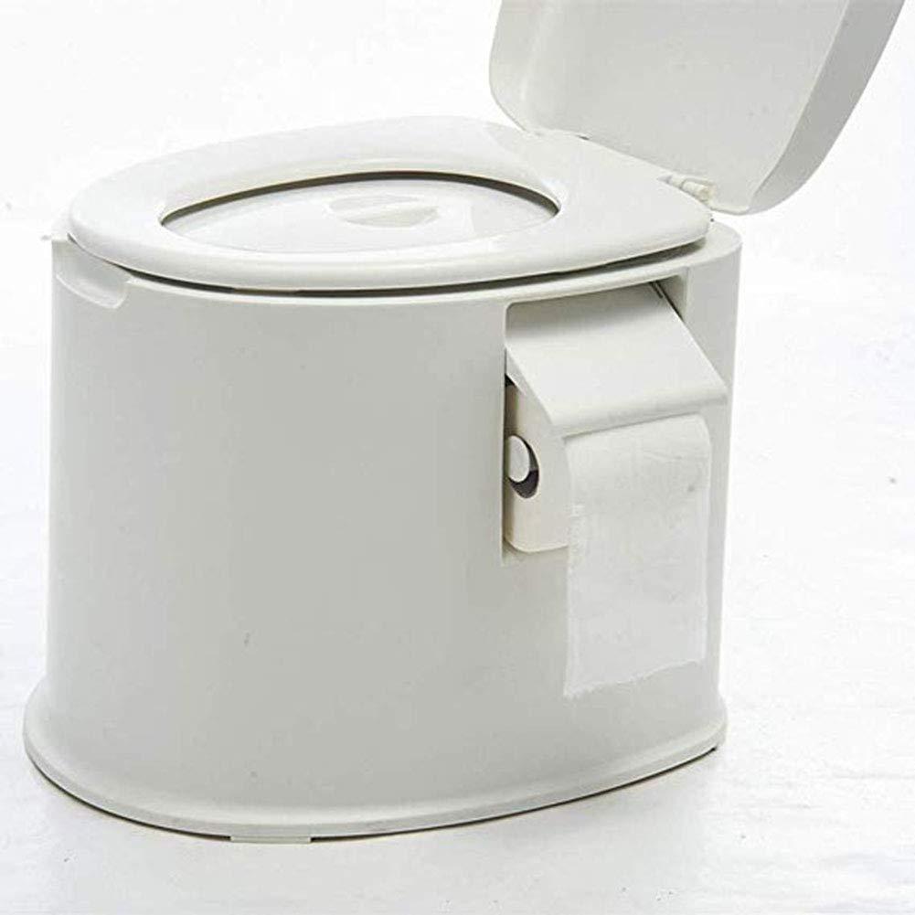 LRXHGOD Toilette Mobile en Plastique /épaississante et antid/érapante Toilette portative Amovible pour Femmes Enceintes