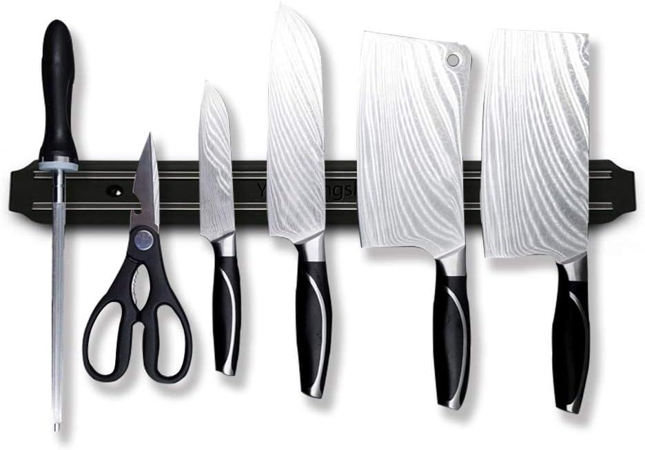 Magnetic Knife Strips, 15 inch Multipurpose Magnetic Knife Holder, Knife Bar, Knife Rack, Knife Strip, Kitchen Utensil Holder, Tool Holder, Magnetic Tool Organizer VIBOOS