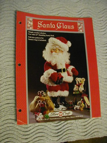 - Santa Claus: Simple crochet stitches. Use with 14
