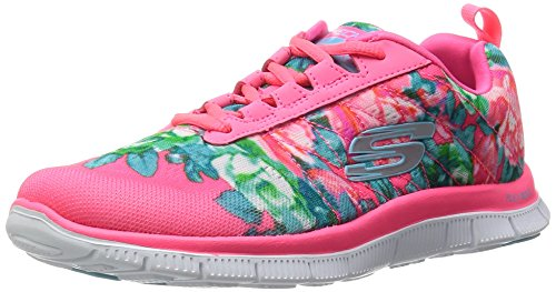 Skechers Flex Appeal Wildflowers Damen Sneaker rosa (HPMT)