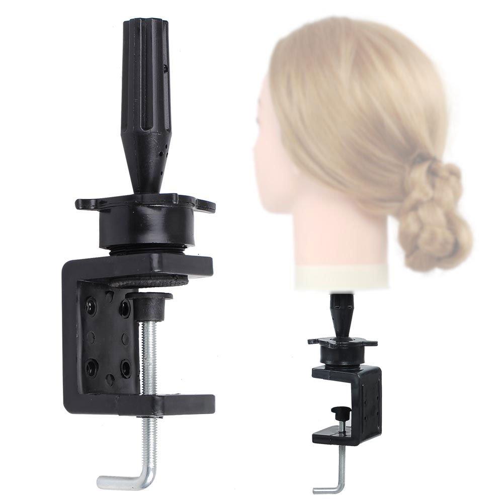 Amazon.com : Salon Hair Clamp Hairdressing Mannequin Training Head Holder Adjustable : Beauty