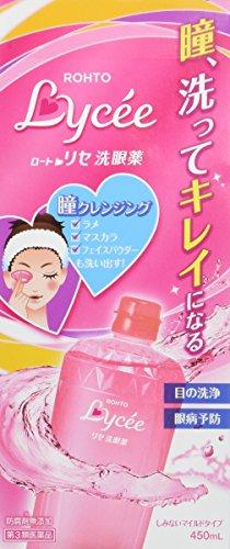 Japanese Popular Eye Wash Medicine ROHTO Lycee 450ml
