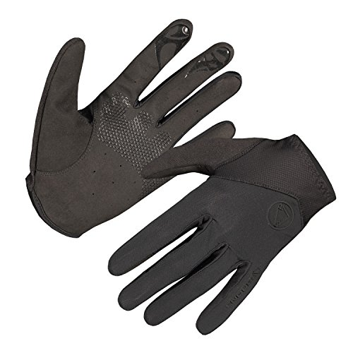 Endura SingleTrack Lite Full Finger Glove Black, XX-Large