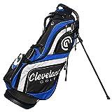 Cleveland Golf Male Cg Stand Bag, Black/Blue/White