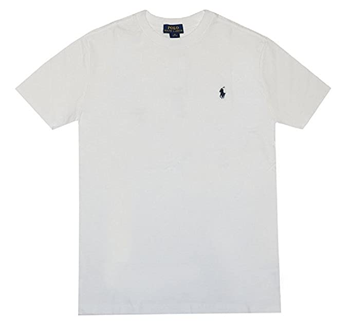 9546c0648309ab Image Unavailable. Image not available for. Color: Polo Ralph Lauren Boys  Solid Cotton Crewneck Tee ...
