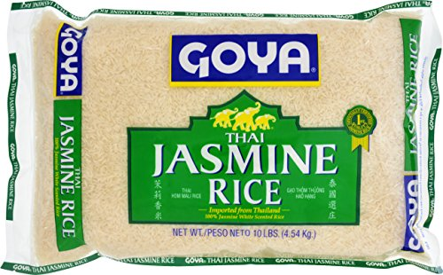 Goya Jasmine Rice, 10 Pound (pack of 4) by Goya