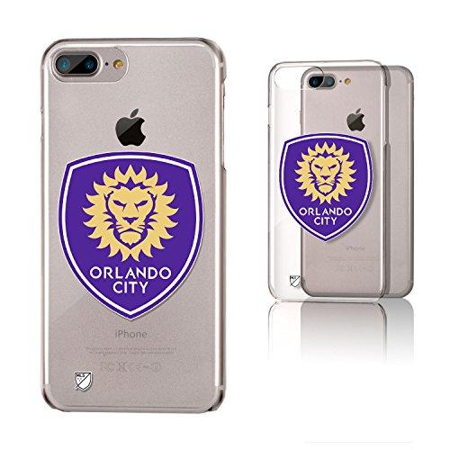 Keyscaper Orlando City Soccer Club Insignia iPhone 6+/7+/8+ Plus Clear Slim Case MLS by Keyscaper