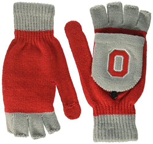 Ohio State Buckeyes Hockey - Ohio State Big Logo Flip Top Glove