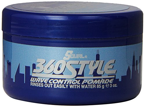 Curl Wave (Luster's S-Curl 360 Style, Wave Control Pomade 3 oz)
