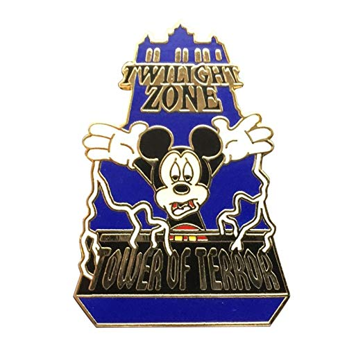 - Disney/WDW Hollywood Studio's Tower of Terror W/Mickey Pin
