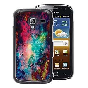 A-type Arte & diseño plástico duro Fundas Cover Cubre Hard Case Cover para Samsung Galaxy Ace 2 (Space Abstract Painting)