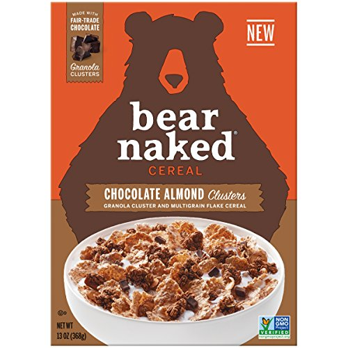 Bear Naked Chocolate Almond Granola Clusters cereal, 13 oz