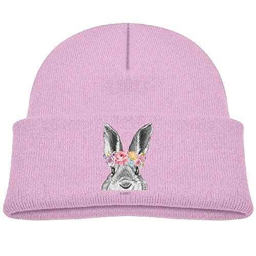 Carlyle Bunny - LEUNG FAMILY-A Autumn Winter Warm Cap Hat For Adult Baby Children Rabbit Guinea Pig Bunny Garlan Flower Toddler Girls Boys Winter Hats Lovely Hat