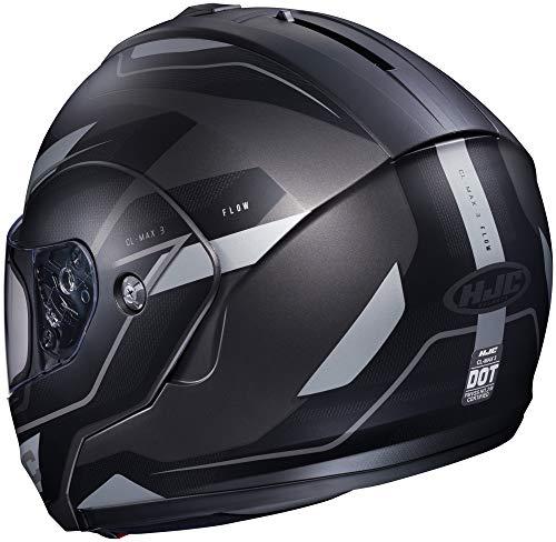 HJC Flow Men's CL-MAX 3 Modular Street Motorcycle Helmet - MC-5SF / ()
