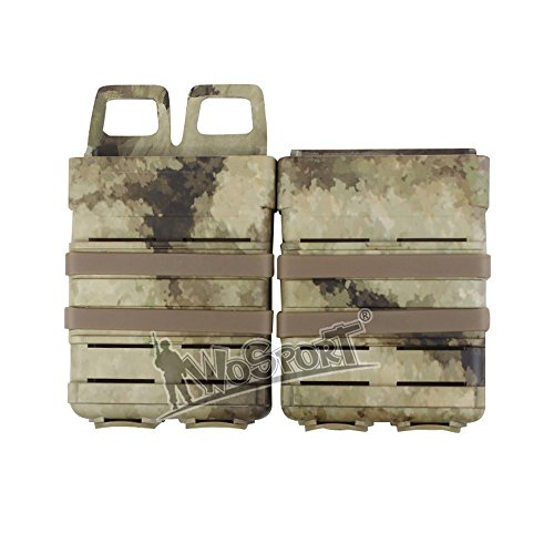 Box Mag Airsoft (Oarea Camo FAST MAG Tactical Vest Accessory Box Pouch Outdoor Middle Size Many Colors Box)