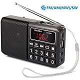 Best Am Fm Portable Radios - PRUNUS Portable SW / FM / AM MP3 Review