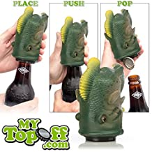 MyTopOff Big Mouth Bass Push Down Bottle Opener