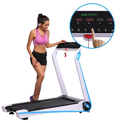 ANCHEER Home Treadmill Folding Running Machine for Running/Walking (Treadmill No Installation)