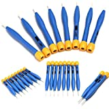 New Arrival 8PCS/set Adjust Frequency Screwdriver Anti-static Plastic Ceramic Set 90MM High Quality