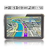 Noza Tec 5 inch Bluetooth Sat Nav Truck GPS with UK Ireland Europe Maps and Free Lifetime Update