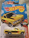 72 chevy toy truck - Hot Wheels 2016 HW Hot Trucks Custom '72 Chevy Luv 148/250, Yellow (Snowflake Card)
