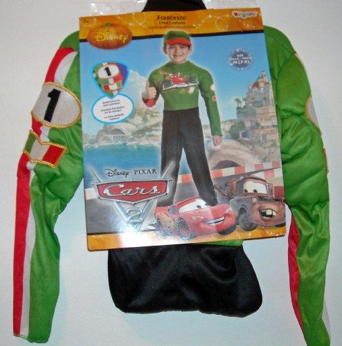 CARS Francesco Halloween Costume Size 7 - (Costume Francesco)