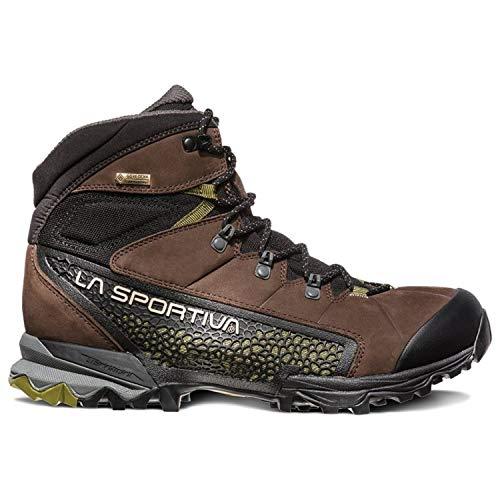 La Sportiva NUCLEO HIGH GTX Hiking Shoe, Chocolate/Avocado, 41.5 ()