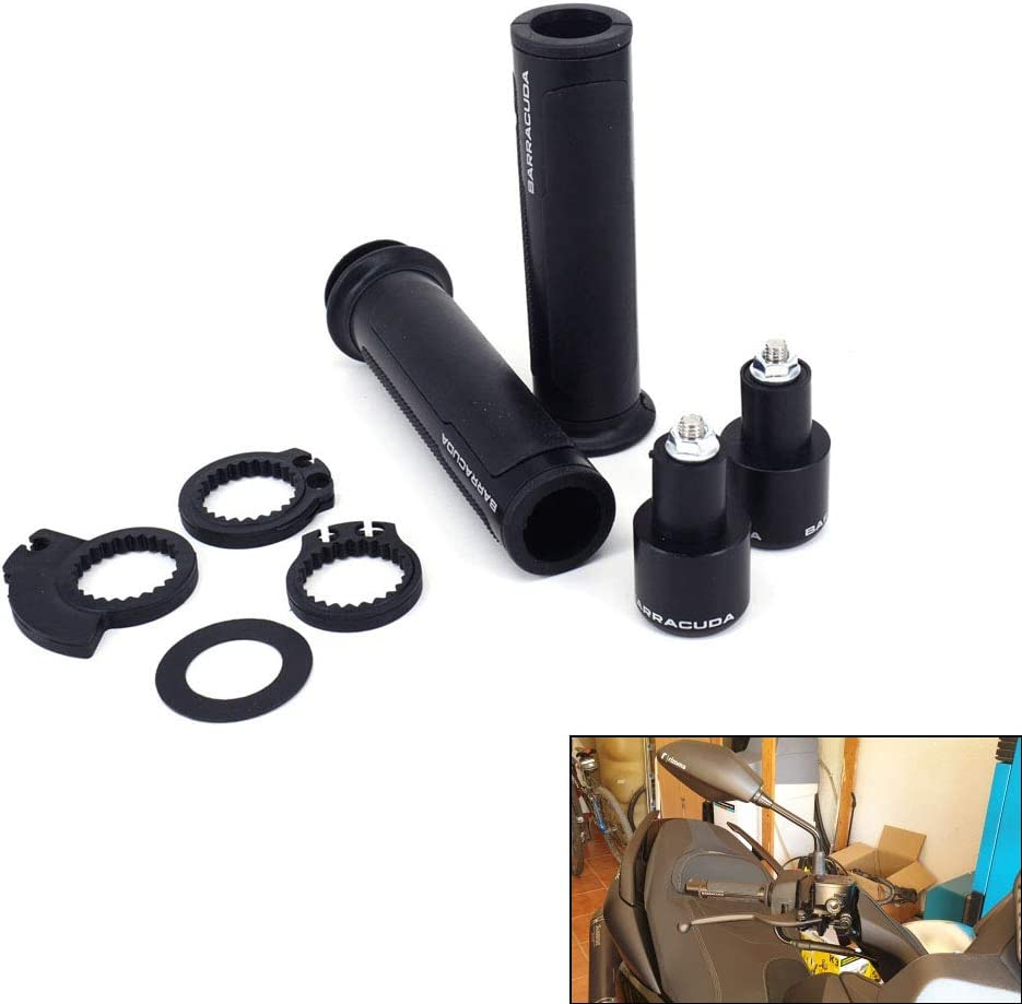Handlebar Handle bars Grips Motorcycle with Bar Ends Caps Plugs 0range Universal Aluminum Rubber 7//8 22mm For KTM EXC EXCF XCF XCW MX EGS SX SXF SMR 50 65 85 125 150 200 250 300 Dirt Pit Bike Enduro