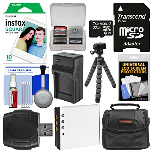 Essentials Bundle for Fujifilm Instax SQ10 Instant Film & Di