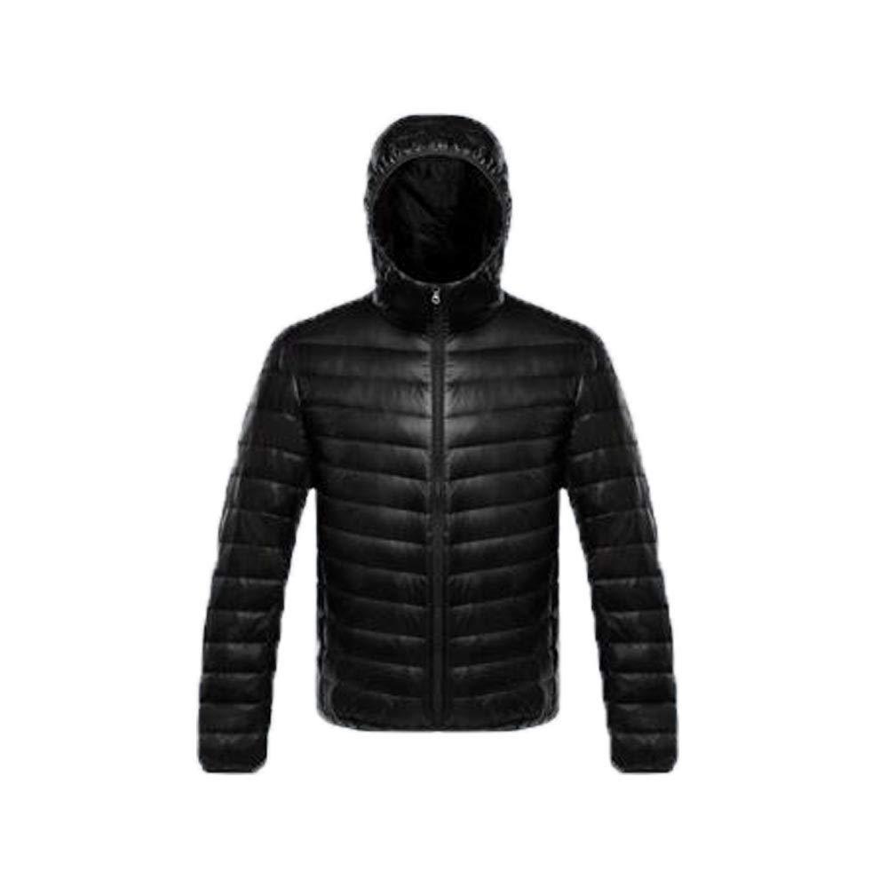noir XXL Court Ultra Léger Vestes Décontractées Décontractée Chaud Manteau avec Capuche VêteHommests D'extérieur pour Hommes