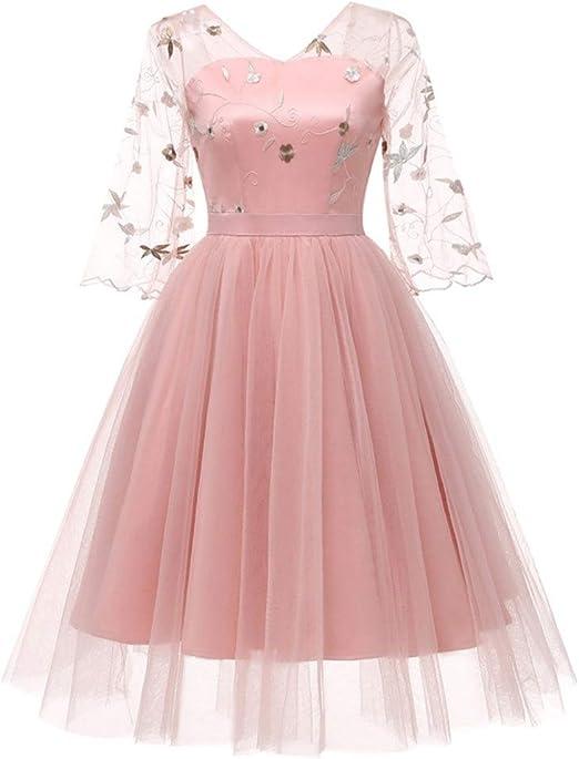 Liuxiaomiao Vestido de Mujer Princesa de Las Mujeres Adultos ...