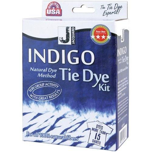 Jacquard Indigo Tie Dye Kit (Mini) (Dye Fabric Tie Dye)