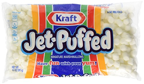 Jet Puffed Mini Marshmallows, 10.0-Ounce Bag