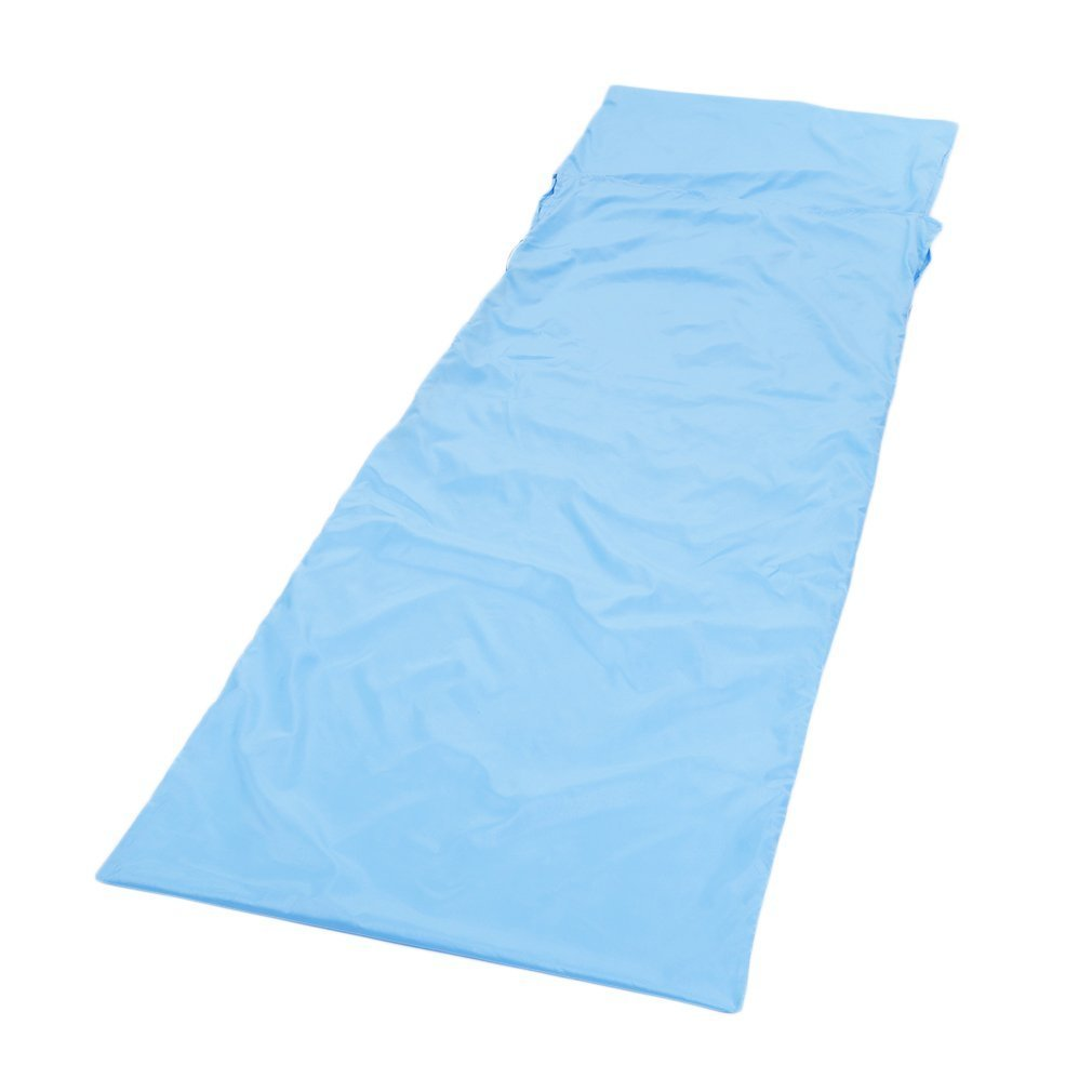 CLKjdz Sleeping Bag Liner Travel Sleep Sack Sheet Hiking Camping Tent Mat Pad by CLKjdz
