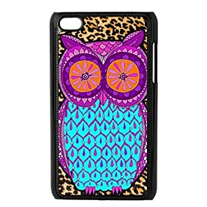 Fashion Leopard Owl Protective Hard PC Back Fits Cover Case for Diy For Iphone 4/4s Case Cover