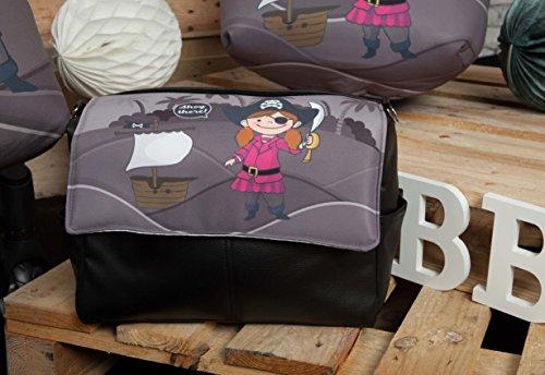 Babyline Barco Pirata - Bolso para niño