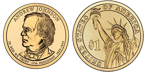 2011-pd-andrew-johnson-presidential-dollar-set
