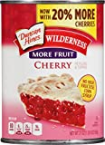 Wilderness More Fruit Pie Filling & Topping, Cherry, 21 Ounce
