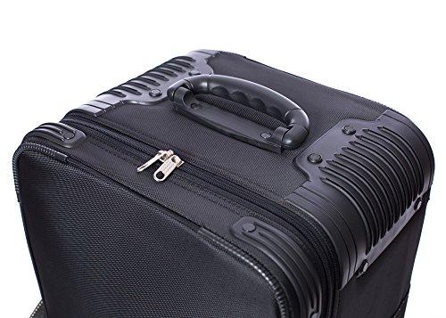 "510eTpYl0FL - Fovitec - 1x Professional Photography & Video Lighting Equipment Roller Bag - [43"" x 13"" x 11""][EZ Glide Wheels][Durable Webbed Nylon][Fleece Lining]"